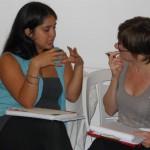 Alumnas de la carrera de coaching organizacional