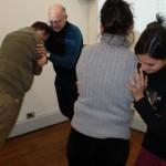 practicando confianza en curso de coaching de la carrera de coaching organizacional