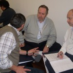 Dando curso de coaching de la carrera de coaching organizacional